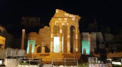 Photo of Historic Site Capitolium - Tempio Capitolino at Piazza Del Foro, Brescia 25121, Italy