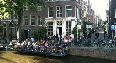 Photo of Bar Café 't Smalle at Egelantiersgracht 12, Amsterdam 1015 RL, Netherlands