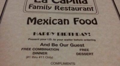 Photo of Mexican Restaurant La Capilla at 4997 La Palma Ave, La Palma, CA 90623, United States
