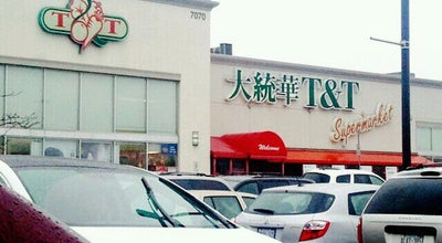 Photo of Supermarket T&T Supermarket 大統華超級市場 at 7070 Warden Ave., Markham, ON L3R 5Y2, Canada