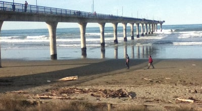 Photo of Beach New Brighton Beach at New Zealand