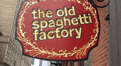 Photo of Italian Restaurant The Old Spaghetti Factory at 54 The Esplanade, Toronto, ON M5E 1A6, Canada