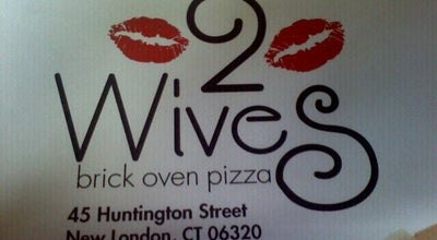 Photo of Pizza Place 2Wives Brick Oven Pizza at 45 Huntington St, New London, CT 06320, United States