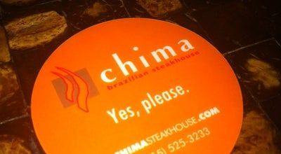 Photo of Steakhouse Chima Brazilian Steakhouse at 1901 John F Kennedy Blvd, Philadelphia, PA 19103, United States