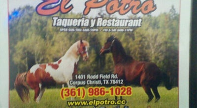 Photo of Taco Place Taqueria El Potro at 1401 Rodd Field Rd, Corpus Christi, TX 78412, United States