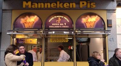 Photo of Fast Food Restaurant Manneken Pis at Damrak 41, Amsterdam 1012 LK, Netherlands