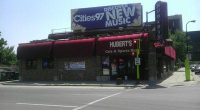 Photo of Sports Bar Hubert's Bar & Restaurant at 601 Chicago Ave, Minneapolis, MN 55415, United States