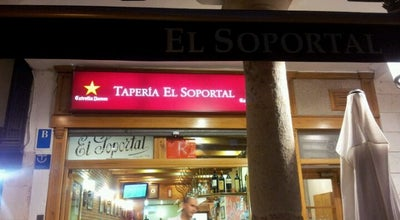 Photo of Tapas Restaurant El Soportal at Calle De La Sombrerería, 2-10, Burgos 09003, Spain