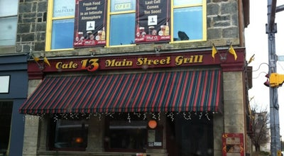 Photo of Bar Cafe 13 Main Street Grill at 13 Main Street, Cambridge, ON N1R 1V5, Canada