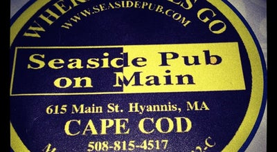 Photo of American Restaurant Seaside Pub On Main at 615 Main St, Hyannis, MA 02601, United States
