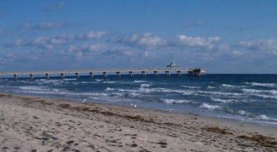 Photo of Beach Deerfield Beach at Deerfield Beach, FL 33441, United States