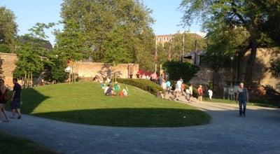 Photo of Park Begijnhofpark at Houtmarkt, Kortrijk 8500, Belgium