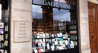Photo of Bookstore Galignani at 224 Rue De Rivoli, Paris 75001, France