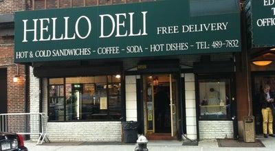 Photo of American Restaurant Hello Deli at 213 W 53rd St, New York, NY 10019, United States