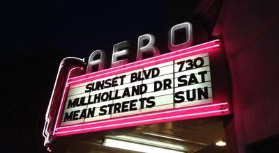 Photo of Indie Movie Theater Aero Theatre at 1328 Montana Ave, Santa Monica, CA 90403, United States
