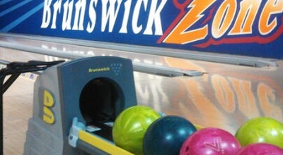 Photo of Bowling Alley Brunswick Zone Chesterfield Lanes at 176 Four Seasons Shopping Center, Chesterfield, MO 63017, United States