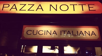 Photo of Italian Restaurant Pazza Notte at 1375a Avenue Of The Americas, New York, NY 10019, United States