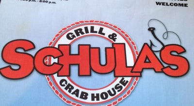 Photo of Seafood Restaurant Schula's Grill And Crab House at 11205 John F Kennedy Dr, Hagerstown, MD 21742, United States