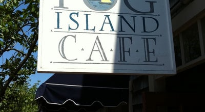 Photo of Cafe Fog Island Cafe at 7 S Water St, Nantucket, MA 02554, United States