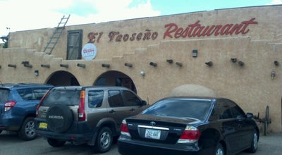 Photo of Mexican Restaurant El Taoseño at 819 Paseo Del Pueblo Sur, Taos, NM 87571, United States
