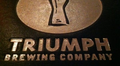 Photo of Brewery Triumph Brewing Company at 117 Chestnut Street, Philadelphia, PA 19106, United States