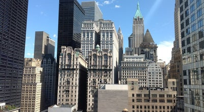 Photo of American Restaurant View Of The World at 140 Washington Street, New York City, NY 10006, United States
