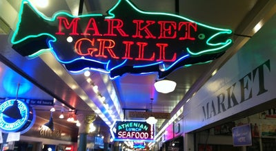 Photo of American Restaurant Market Grill at 1509 Pike Pl Ste 3, Seattle, WA 98101, United States
