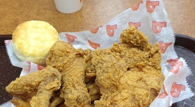Photo of Fried Chicken Joint Popeye's at 98 Walker St, New York, NY 10013, United States