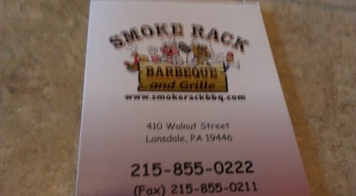 Photo of BBQ Joint Smoke Rack BBQ & Grille at 410 Walnut St, Lansdale, PA 19446, United States
