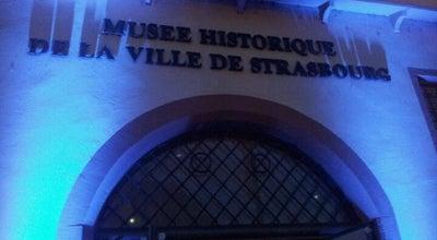 Photo of History Museum Musée historique de Strasbourg at 2 Rue Du Vieux Marché Aux Poissons, Strasbourg 67000, France