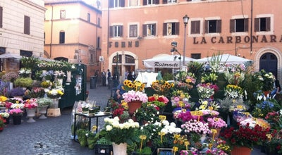 Photo of Plaza Campo de' Fiori at Campo De' Fiori, Roma 00186, Italy