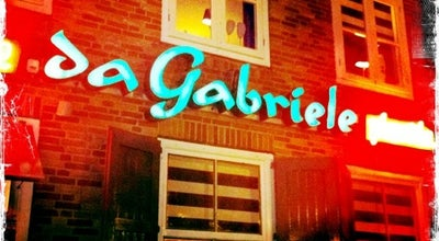 Photo of Italian Restaurant Da Gabriele at Vischmarkt 23-47, Harderwijk 3841, Netherlands
