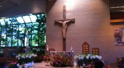 Photo of Church St. John the Baptist Catholic Parish at 900 S Littler Ave., Edmond, OK 73074, United States