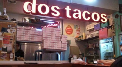 Photo of Taco Place Dos Tacos at 서초구 강남대로 455, 서울특별시 137-855, South Korea