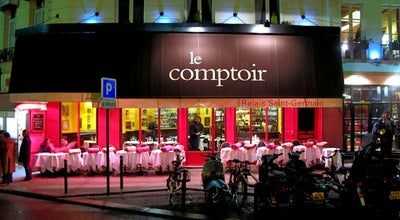 Photo of Bistro Le Comptoir du Relais at 9 Carrefour De L'odéon, Paris 75006, France
