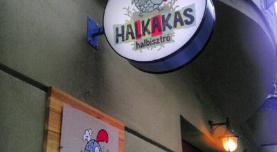 Photo of Fish and Chips Shop Halkakas halbisztró at Veres Pálné U. 33., Budapest 1053, Hungary