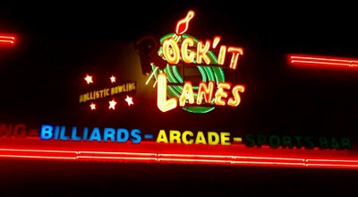 Photo of Bowling Alley Rock-It-Lanes at 513 Beckrich Rd, Panama City Beach, FL 32407, United States
