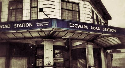 Photo of Subway Edgware Road London Underground Station (Circle, District and H&C lines) at Chapel St, London NW1 5DH, United Kingdom