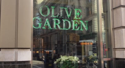 Photo of Italian Restaurant Olive Garden at 696 Avenue Of The Americas, New York, NY 10010, United States