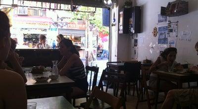 Photo of Vegetarian / Vegan Restaurant Caffe Kaymak (קפה קאימק) at 49 Levinsky St., Tel Aviv, Israel