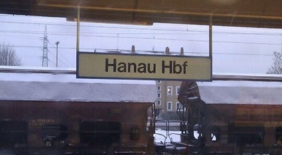 Photo of Train Station Hanau Hauptbahnhof at Am Hauptbahnhof 14, Hanau 63450, Germany