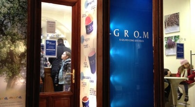 Photo of Ice Cream Shop Grom at Via San Nicolò, 18, Trieste 34121, Italy