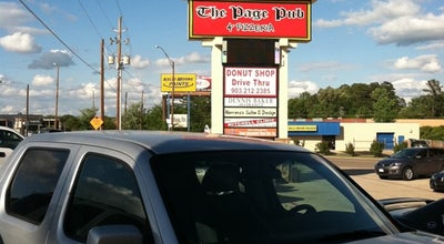 Photo of Pizza Place The Page Pub & Pizzeria at 2647 Bill Owens Pkwy, Longview, TX 75604, United States