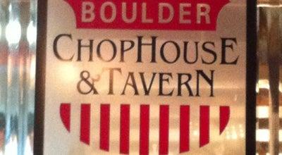 Photo of Steakhouse Boulder Chophouse & Tavern at 921 Walnut St, Boulder, CO 80302, United States
