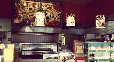Photo of Pizza Place Two Boots Pizza at 75 Greenwich Ave, New York, NY 10014