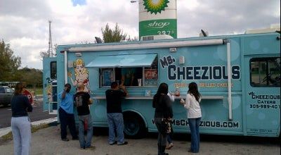 Photo of Food Truck Ms. Cheezious At B&F Marine at 72 Ave And Bird Road, Miami, FL 33155, United States