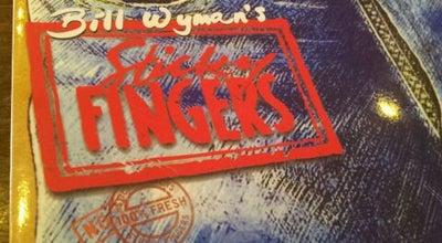 Photo of American Restaurant Bill Wyman's Sticky Fingers at 1a Phillimore Gdns., Kensington W8 7QG, United Kingdom