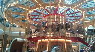 Photo of Arcade Oak Park Mall Venetian Carousel at 11795 W 95th St, Overland Park, KS 66214, United States