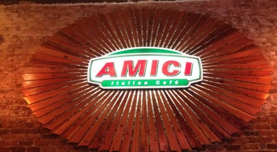 Photo of Pizza Place Amici Milledgeville at 101 W Hancock St, Milledgeville, GA 31061, United States