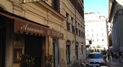 Photo of Italian Restaurant Armando al Pantheon at Salita De' Crescenzi 31, Rome 00186, Italy